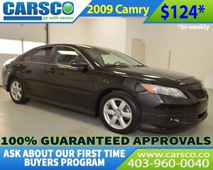 2009 Toyota Camry $0 DOWN BI WEEKLY PAYMENTS $124