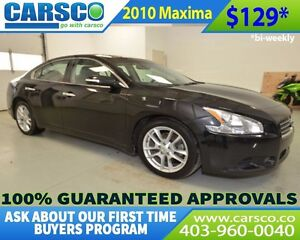 2010 Nissan Maxima $0 DOWN BI WEEKLY PAYMENTS OF $129