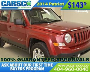 2014 Jeep Patriot NORTH EDITION $0 DOWN BI-WEEKLY PAYMENTS $143
