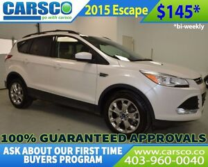 2015 Ford Escape SE ECOBOOST LEATHER SUNROOF 4X4
