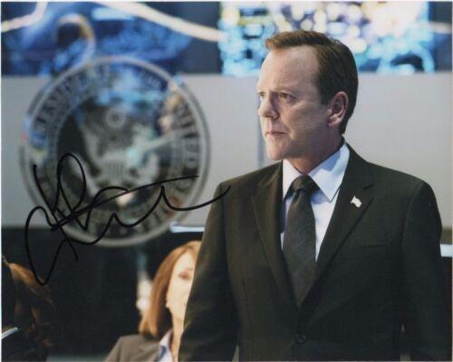 Kiefer Sutherland Designated Survivor Autographed Signed 8x10 Photo COA #A2