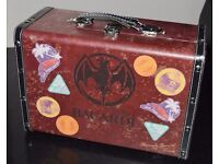 Rare Vintage Promo Bacardi Suitcase Cooler Cocktail Ice Bucket Trunk chest