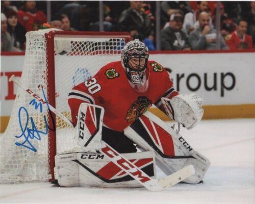 Chicago Blackhawks Jeff Glass Signed Autographed 8x10 Photo COA A