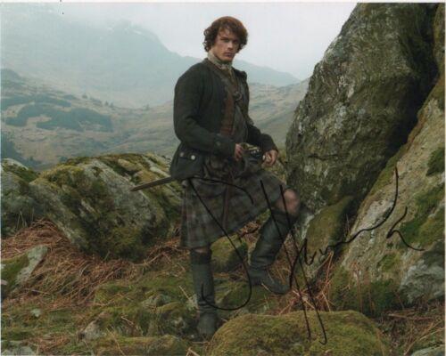 Sam Heughan Outlander Autographed Signed 8x10 Photo COA #C65