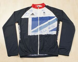 Signed-Team-GB-Cycling-Jersey-London-2012-Olympics-All-11-Track-Gold-Medalists