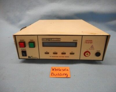 Associated Research Hypot Basic Ac Withstand Voltage Tester 205d 115230vac