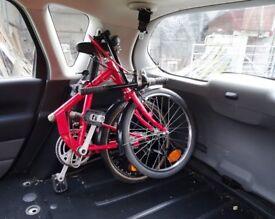 Folding Bike Nexus 8 speed hub Dynamo lights cycle all working