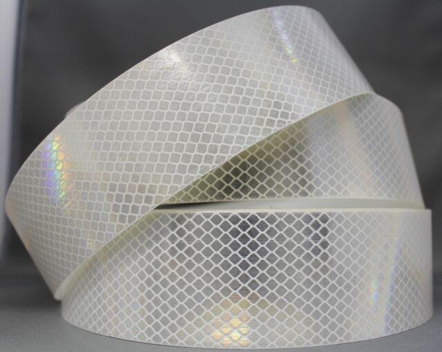 3M White (4090) Diamond Grade Class 1 Reflective Tape 30mm x 5m