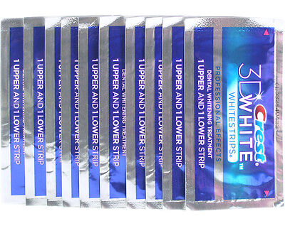 Crest 3D White Professional Whitening Effects Whitestrips (20 strips/10 pouches) on Rummage