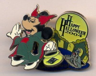 Disney Cruise Line DCL Happy Halloween Minnie Trick or Treat LE 500 Pin - Disney Halloween Cruise