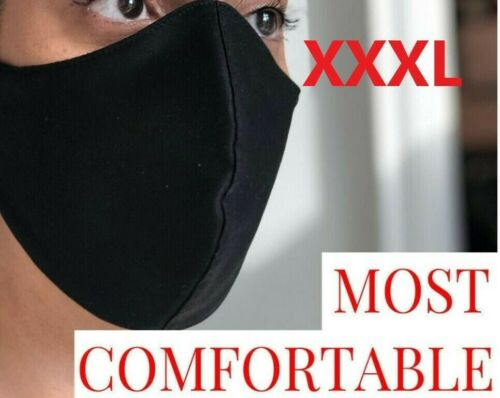 XXXL XXL XL Face Mask Extra Large Big Tall Knit Nose wire Filter Men Beard