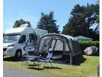Galli Tall drive away awning/freestanding tent