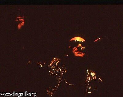 U2, Bono, 1-of-a-kind! Never printed! Original 35mm color film!! ZOO TV Your