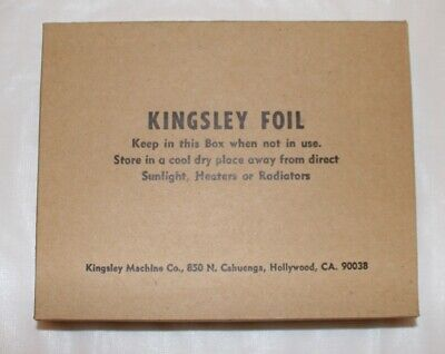 24 Count Vintage Kingsley Foil Hot Stamping Foil - Green Red Black Free Shipping