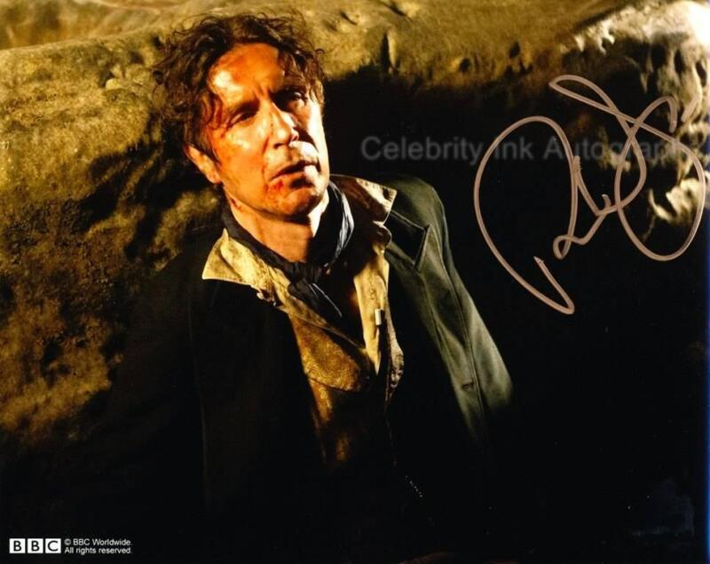 PAUL McGANN - Doctor Who: Night Of The Doctor GENUINE AUTOGRAPH UACC (R9113)