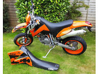 KTM SMC 660 supermoto great condition + extras. Sell, Swap or P/X only 8k miles done