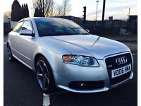 AUDI A4 2.0 TFSI S Line Special Edition 4dr (silver) 2006