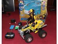 Ripmax Big Pro Sport Stunt Quad Racer with Detachable Driver - Remote Control Car