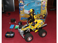 Remote Control - Stunt Quad Racer with Detachable Driver - Ripmax Pro Sport