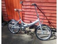 New aluminium folding bike