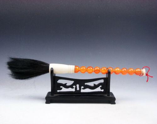 Stunning Chinese Traditional Pen/Brush W/ Beads Handle 07231801 - $8.99