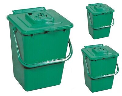 Kitchen Compost Collector Indoor Waste Bin Composter Plastic Garden Container Compost Plastic Composter