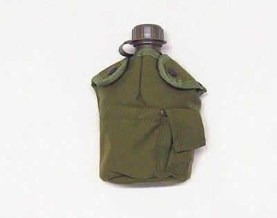 - Olive drab green Rothco belt attachment enhanced nylon 1qt canteen COVER ONLY