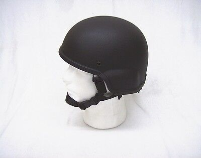 Black Rothco ABS plastic replica MICH 2000 type helmet airsoft paintball new