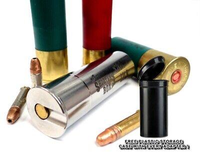 12GA to 22LR/22short Shotgun Adapter - SMOOTH BORE - Stainless - Free -