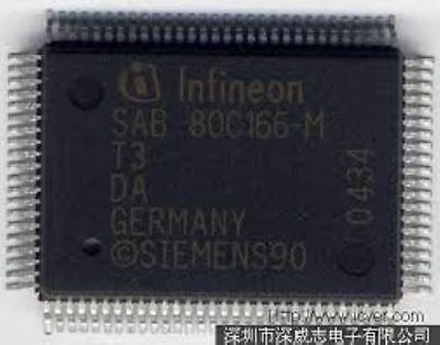 SIEMENS SAB80C166-M MQFP 16-Bit CMOS Single-Chip Chip