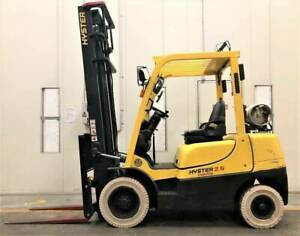 F3670: 2010 HYSTER 2.5 TON LPG– 4.5MTR MAST WITH SIDE SHIFT Geebung Brisbane North East Preview