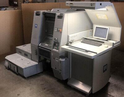 Ryobi Presstek Di Press 3404xdi 4-color Printing Press 34xdi Kpg 5634di