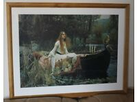 The Lady of Shalott by John William Waterhouse Professionally Crafted Art Print