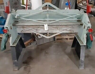 Chicago S-416 48 4 X 16 Ga. Steel Bending Cornice Press Brake