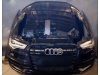 Car part: Single unit Front End UK Audi A6 2.8 2010 - 2016 4G5 4G2 4GD C7