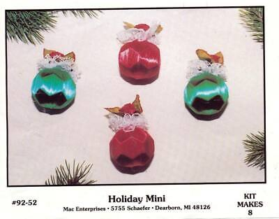 NEW MERRI MAC HOLIDAY MINI ORNAMENT KIT MAKES 8 for sale  Shipping to India