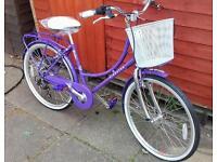 New Dutch style city bike