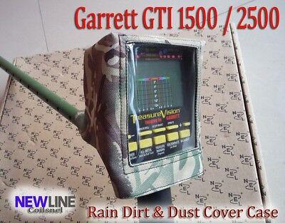 Garrett GTI 1500 2500 Metal Detector Rain Dirt & DustCover Control Box Protector
