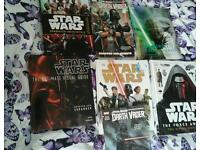 Star wars books and marvel star wars comics