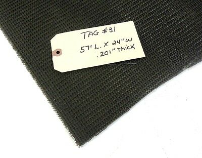 Unknown Brand Conveyor Belt Black Pvc Rough Top 57 X 24
