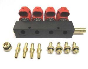 Valtek LPG Gas Injektor Typ T30 4 Zylinder 3 Ohm inklusive Düsen E4 67 R010104
