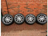 17 inch Alloys (5 Stud) - 215/45/r17 - Tyres 5-6mm tread