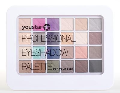 youstar Professional Eyeshadow Palette / Kosmetikkassette Make up Kit 24 Farben