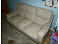 reclining faux leather sofas