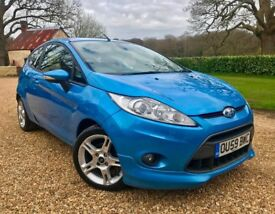 2009-59 Ford Fiesta Zetec S TDCI £20 Tax New MOT and Service Nearly a Full Ford Service History