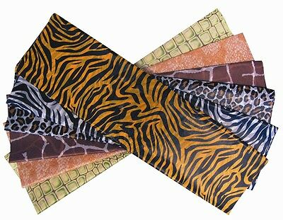 ANIMAL PRINT/SAFARI TISSUE PAPER - 12 SHEETS, 6 DESIGNS (Animal Print Paper)