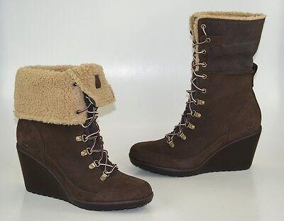 Timberland Earthkeepers Meridien Fold Down Boots Gr 41 US 9,5 Stiefeletten Damen