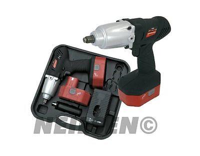 Heavy duty 24 Volt cordless impact wrench Torque 420 NM + 10
