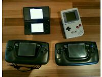 Handheld Consoles x4 Faulty Joblot Spares/Repairs Nintendo Gameboy DS 2x Sega Game Gear