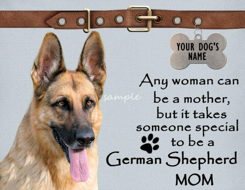 GERMAN SHEPHERD Mother Mom Special Magnet